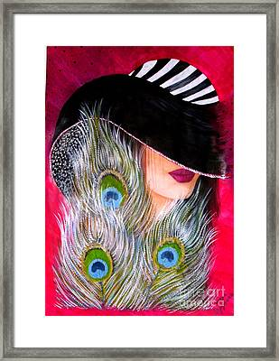 Grace Framed Print by Sonya Ragyovska