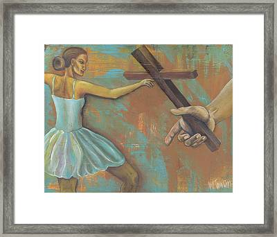 'grace Was Given' Framed Print