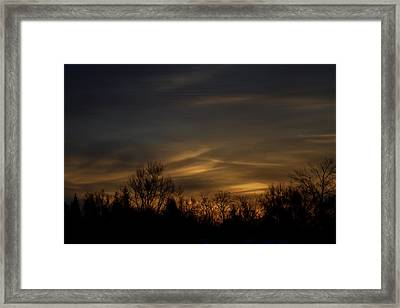 Graced By The Sun Edition 2 Of 10 Framed Print