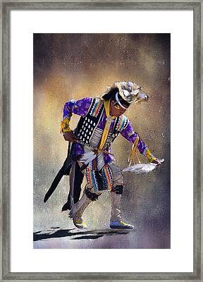 Graceful And Strong Framed Print by Barbara Manis