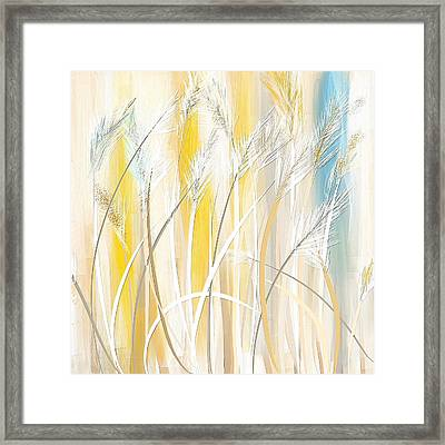 Graceful Grasses Framed Print