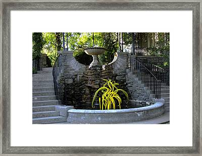 Graceful Framed Print by Kae Cheatham