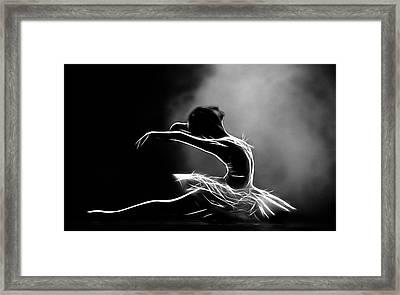 Gracefullness Framed Print by Steve K