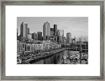 Gracefully Urban Framed Print