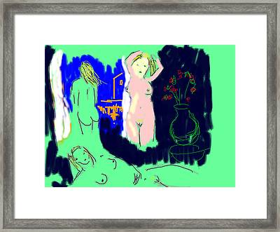 Graces Framed Print by Samuel Zylstra