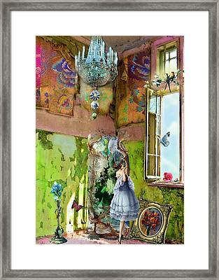Grace's Window Framed Print by Laura Botsford