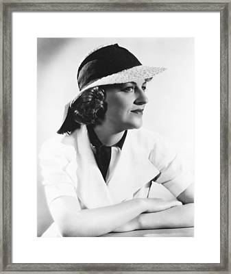 Gracie Fields Framed Print