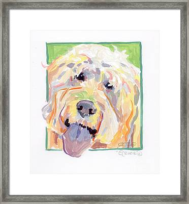 Gracie Framed Print by Kimberly Santini