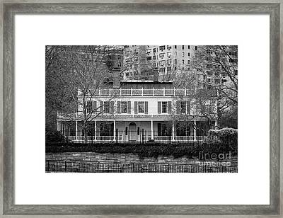 Gracie Mansion On The East River New York City Framed Print