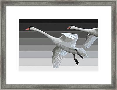 Gradiant 2 Framed Print
