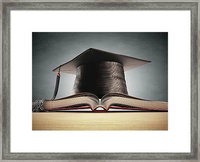 Graduation Framed Print by Ktsdesign