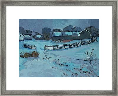 Grady Road Farm Framed Print