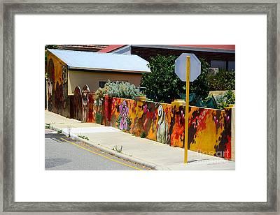 Graffiti   Framed Print by Bobby Mandal