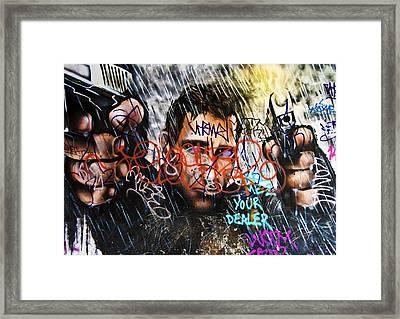 Graffiti 03 Framed Print by Svetlana Sewell