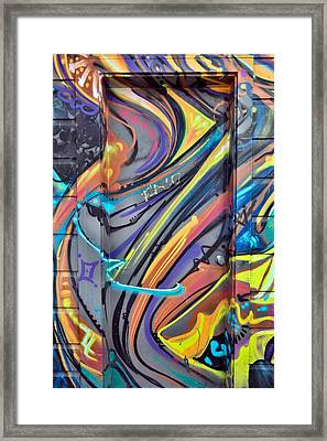 Graffiti 1 Framed Print
