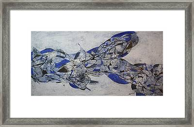 Graffiti Abstract 8 Framed Print by Bradley Carter