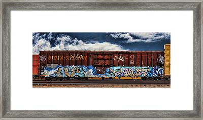 Graffiti - Alien Framed Print
