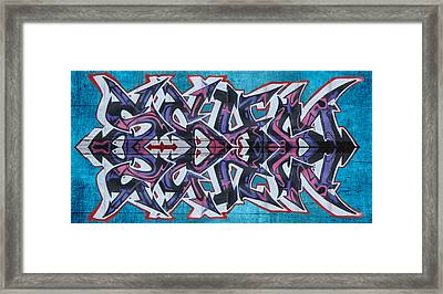 Graffiti - Arrows Framed Print