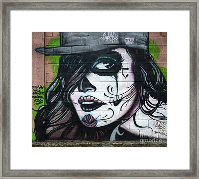 Graffiti Art Curitiba Brazil 21 Framed Print by Bob Christopher
