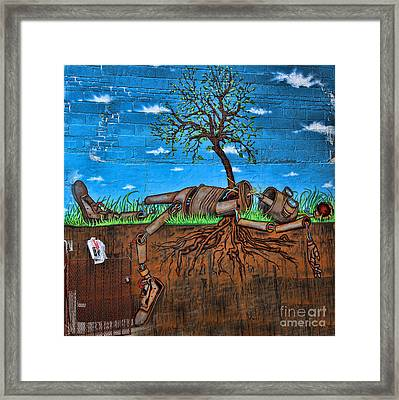 Graffiti Art Iv Framed Print