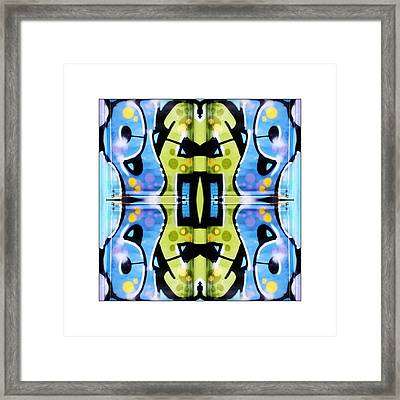 Graffiti Framed Print by Don Powers
