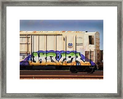 Graffiti - Hover Framed Print