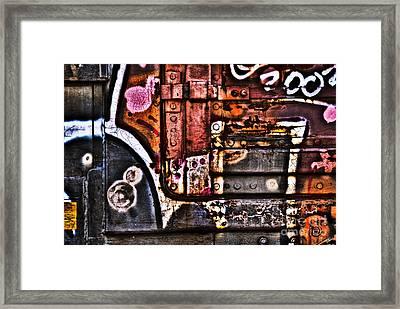 Graffiti II Framed Print by Alana Ranney