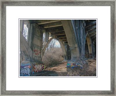 Graffiti Kansas City 9 Framed Print by Ellen Tully