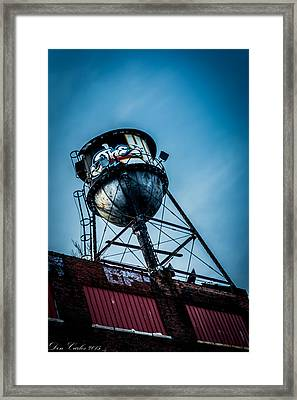 Graffiti Lives Framed Print