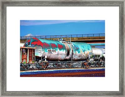Graffiti - Toxic Tanker II Framed Print