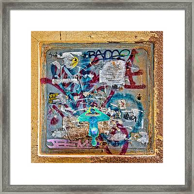 Graffitis Framed Print by Delphimages Photo Creations