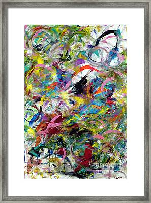 Graffitti Framed Print