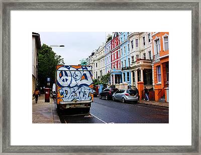 Grafitti Truck Framed Print by Nicky Jameson