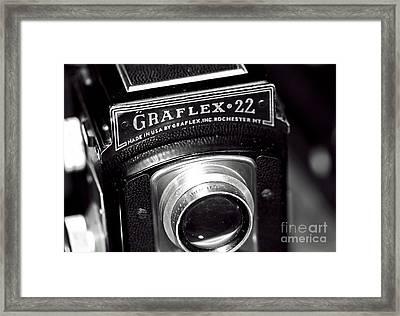 Graflex 22 Framed Print by John Rizzuto