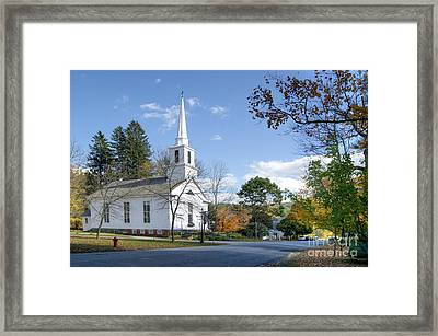 Grafton Church Framed Print