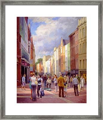 Grafton Street. Dublin Framed Print