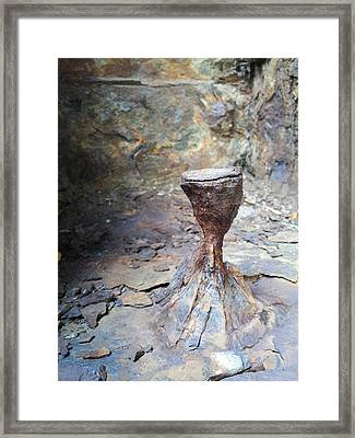 Grail Framed Print