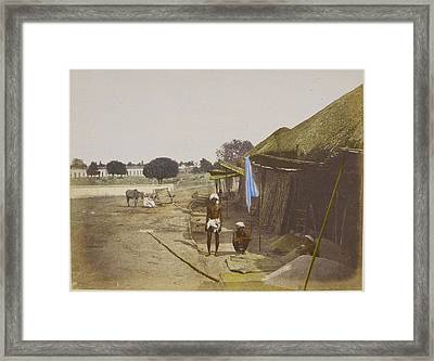 Grain Bazaar Framed Print by British Library