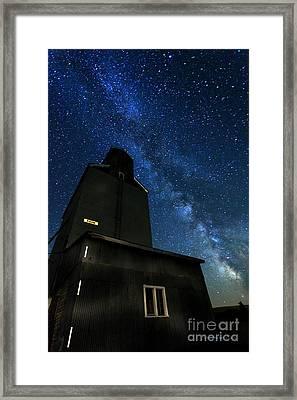 Grain Elevator  Framed Print by Beve Brown-Clark Photography
