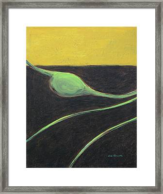 Grain Emanation Framed Print
