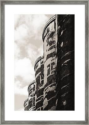 Grain Silos Framed Print
