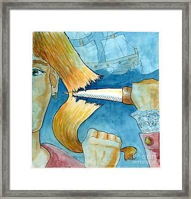 Grainne Mhaol Framed Print