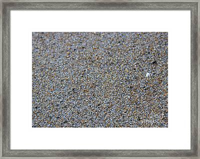 Grainy Sand Framed Print by Michael Mooney