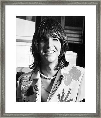 Gram Parsons Framed Print by Silver Screen