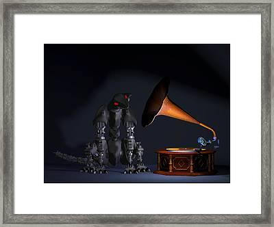 Grammaphone Framed Print by Tim Fillingim