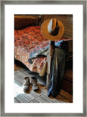 Grampa's Gone Framed Print by Jan Amiss Photography