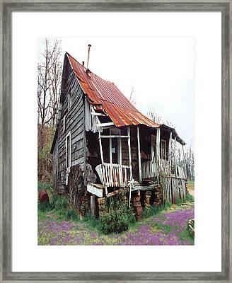 Grampa's House Framed Print
