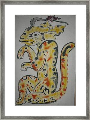 Gran Jaguar Framed Print