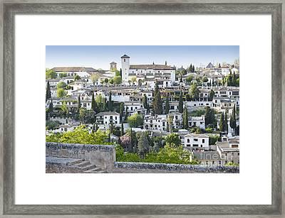 Granada Spain Framed Print
