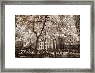 Granary Burying Ground - Boston Framed Print by Joann Vitali